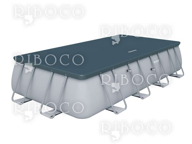 Басейн сглобяем Bestway 56466 Power Steel Rectangular 549 cm x 274 cm x 122 cm 14812 L