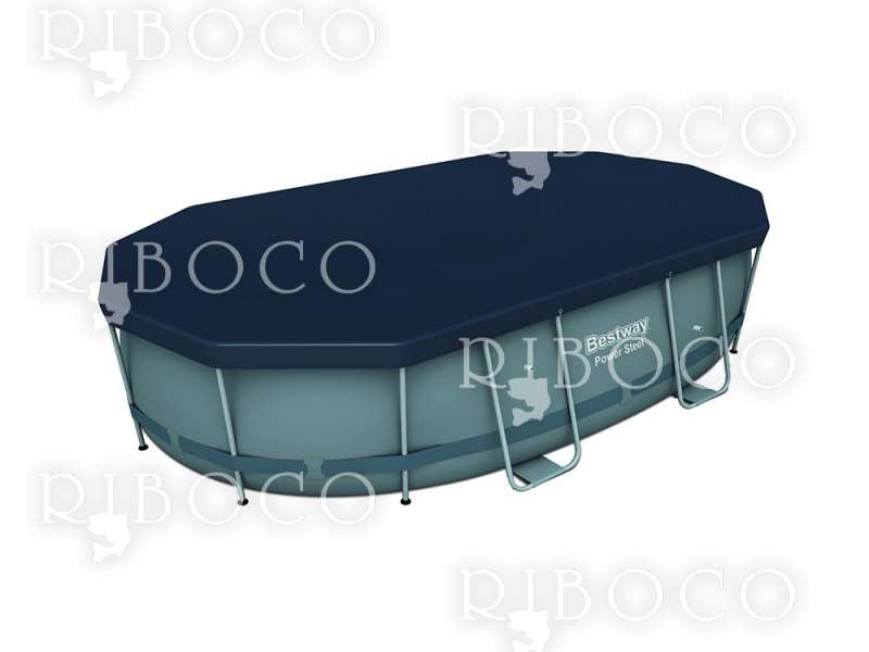 Покривало подходящо за басейн 610 cm x 305 cm Bestway 58549