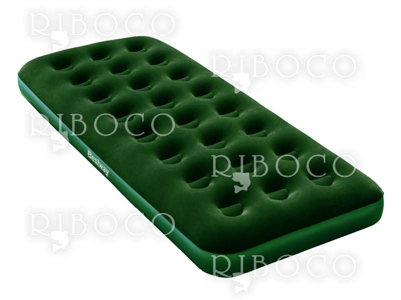 Надуваем матрак Bestway 67446 183 cm x 76 cm x 22 cm Single mattress Green