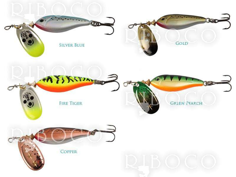 Blue Fox Vibrax MINNOW SUPER