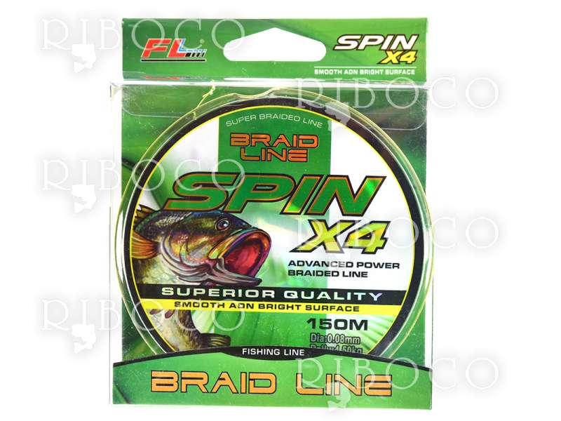 Плетено влакно FL Spin X4 -150 m