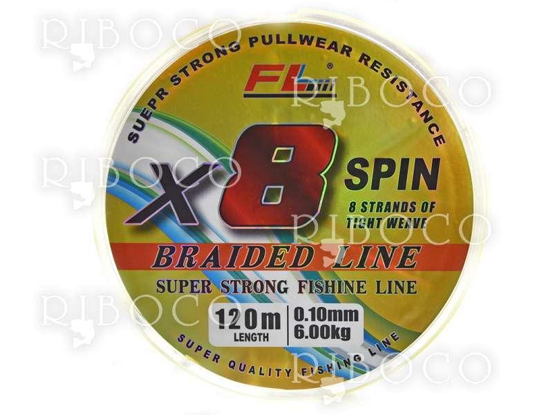 Плетено влакно FL X8 SPIN 120 m