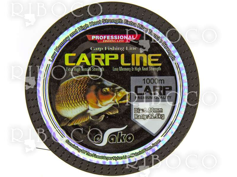 Osako CARP LINE PROFESSIONAL MULTI COLOR 1000 m
