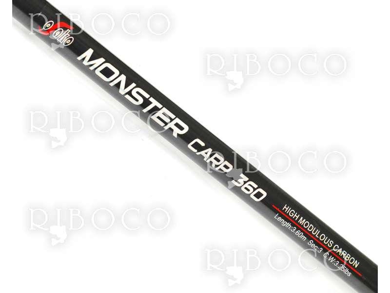 Шарански прът Osako MONSTER CARP - 3 части