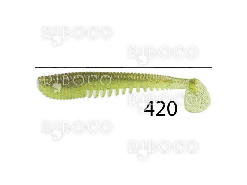 Силиконова примамка Pontoon 21 AWARUNA 7.62 cm, 8.89 cm, 10.16 cm, 11.43 cm - 1 бр