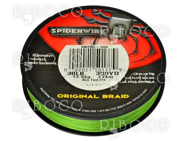 Spider Wire MOSS GREEN