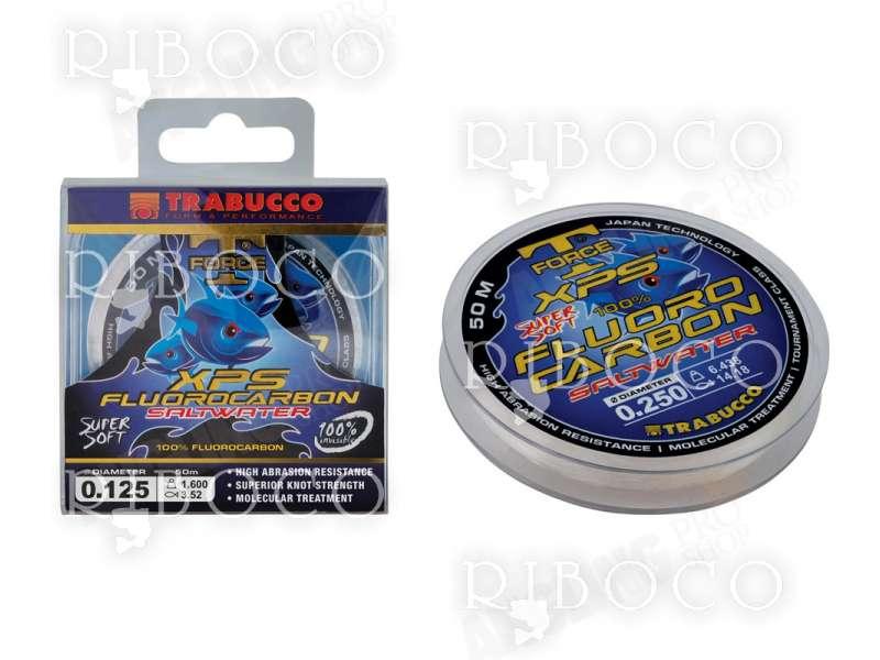 Флуорокарбоново влакно Trabucco T-FORCE XPS FLUOROCARBON SALTWATER 50 m