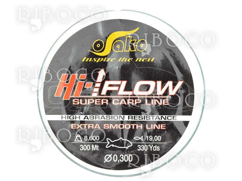 Влакно Osako Hi-Flow SUPER CARP LINE - 300 m, 600 m