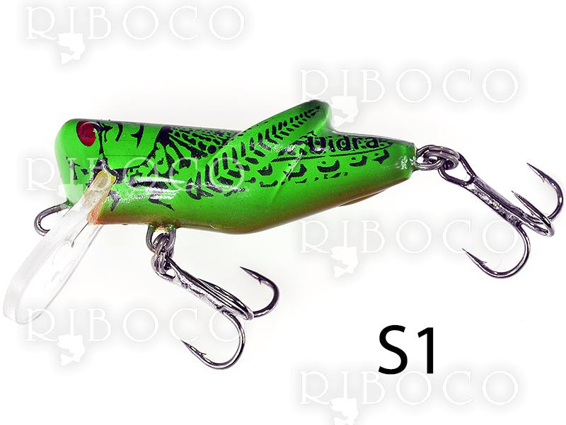 Floating Fishing Wobbler Vidra S - 4 cm