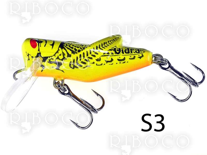 Риболовен воблер Vidra S скакалец - 4 cm плаващ