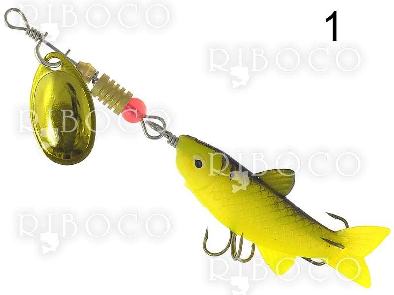 Блесна със силиконова рибка Ezi Fish