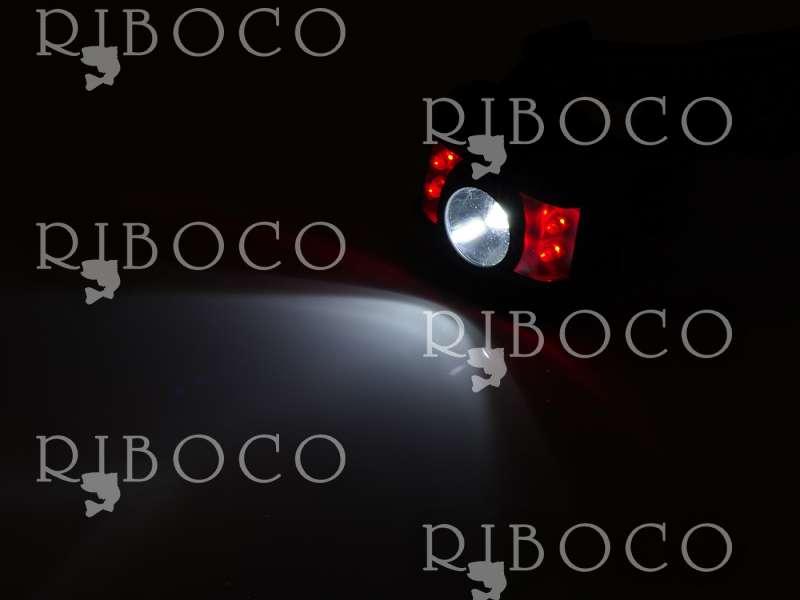 Мултифункционален фенер за глава 5 диода