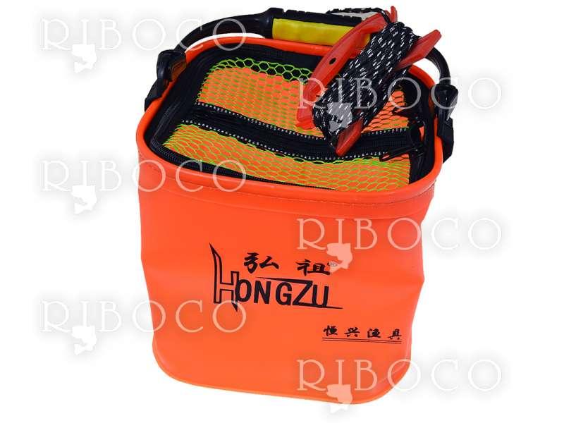 Кофа оранжева сгъваема HONGZU
