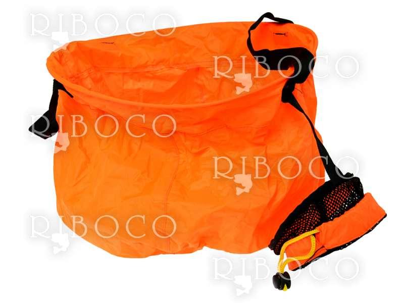 Кофа оранжева сгъваема MARCO POLO - 8 L