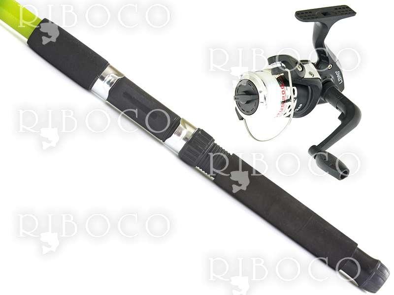 Комплект телескоп Akula KNIGHTS и макара Libao LOTUS200