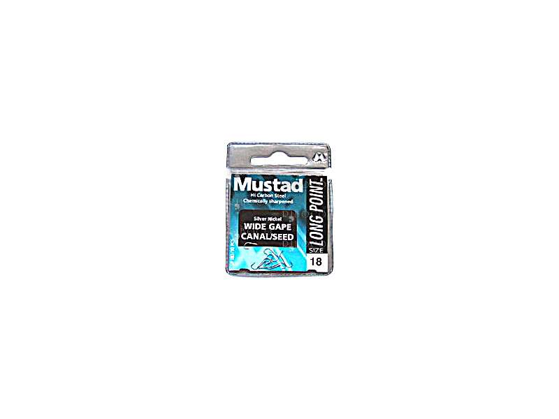 Куки Mustad Long Point Wide Gape Canal Seed