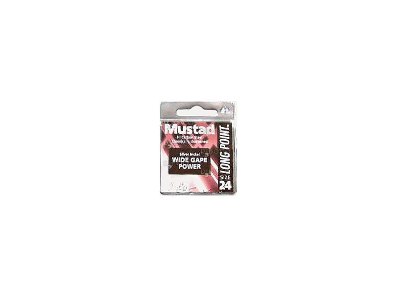 Куки Mustad Long Point Wide Gape Power LP200