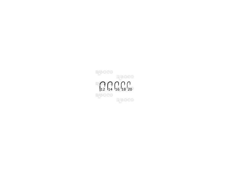 Куки Mustad Long Point Medium Feeder LP280