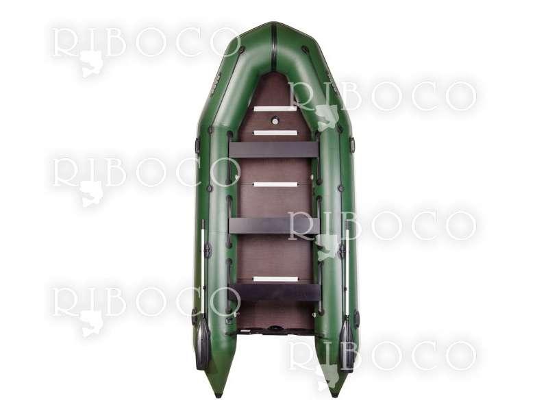 Надуваема моторна лодка Bark BT-420S шестместна