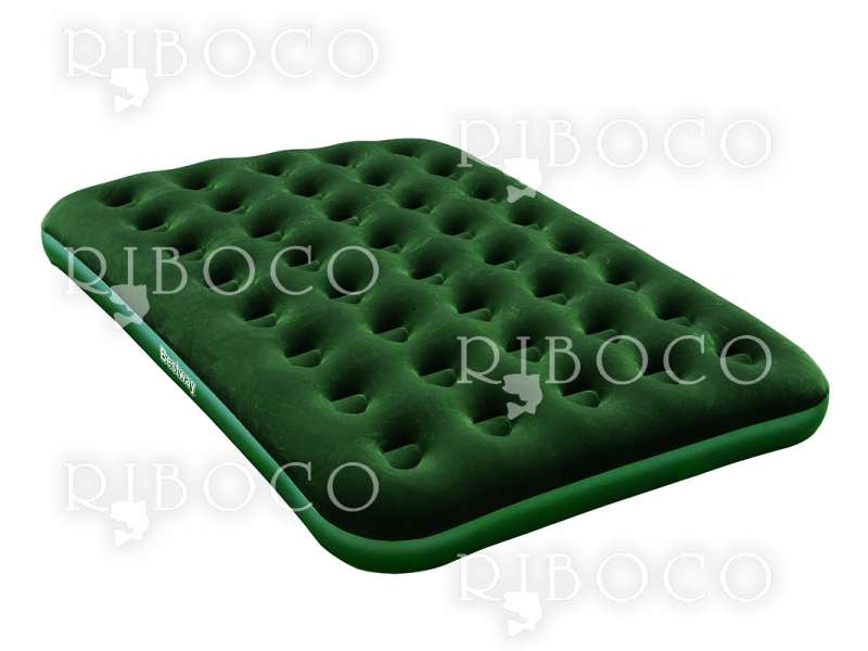 Надуваем матрак двоен Bestway 67448 191 cm x 137 cm x 22 cm Double mattress Green