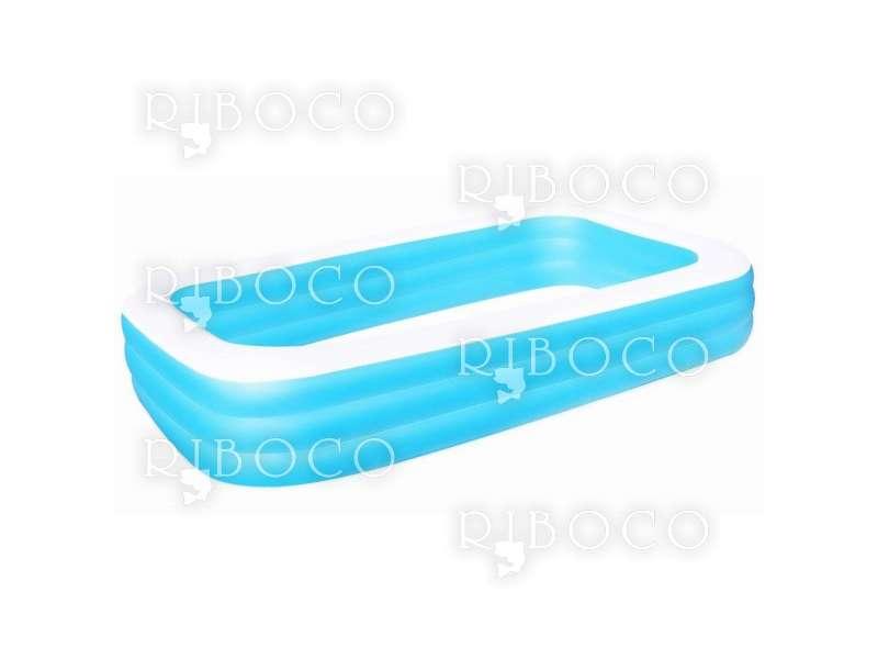 Надуваем басейн Bestway 54009 305 cm x 183 cm x 56 cm