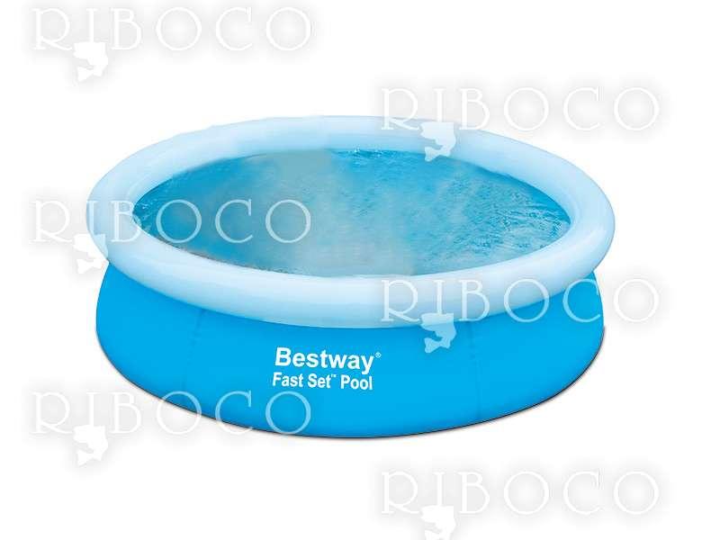 Надуваем басейн Bestway 57252 d198 x 51 cm