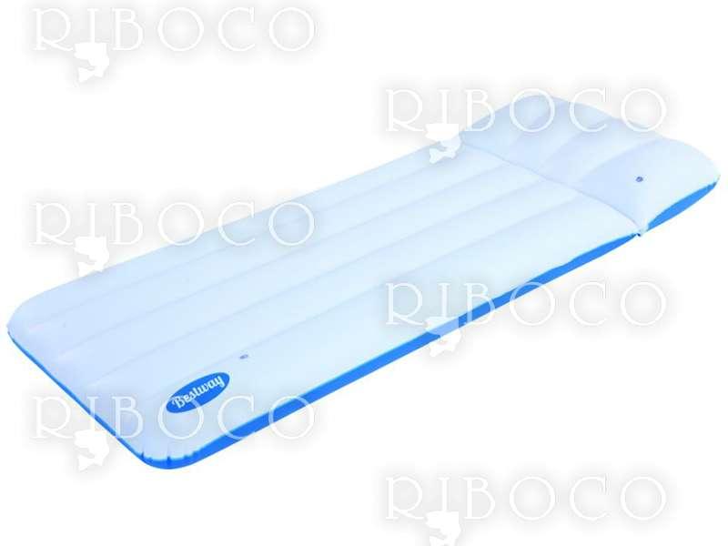 Надуваем дюшек 43109 Bestway luxury mattress 183 cm x 71 cm