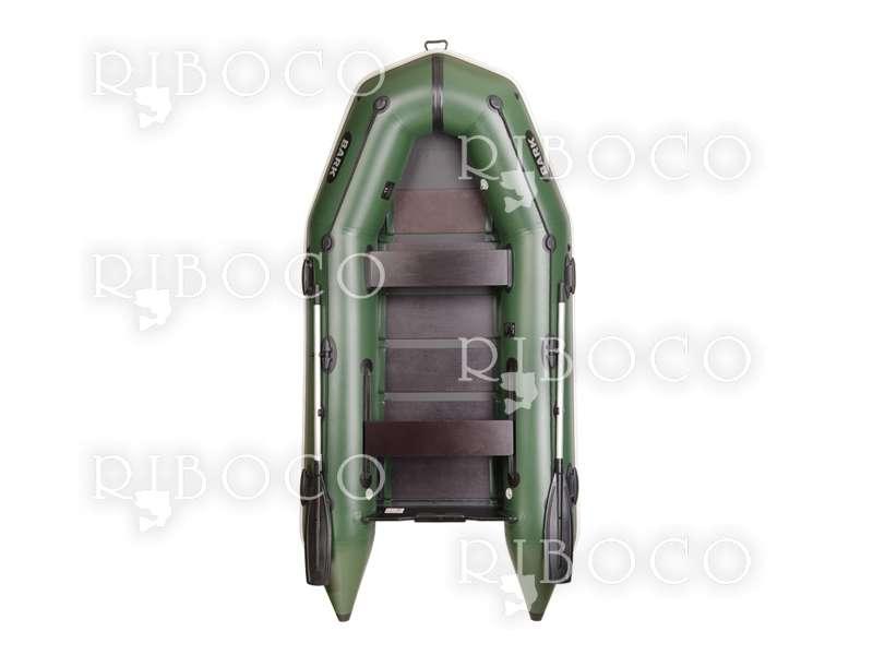 Надуваема моторна лодка Bark BТ-310 триместна