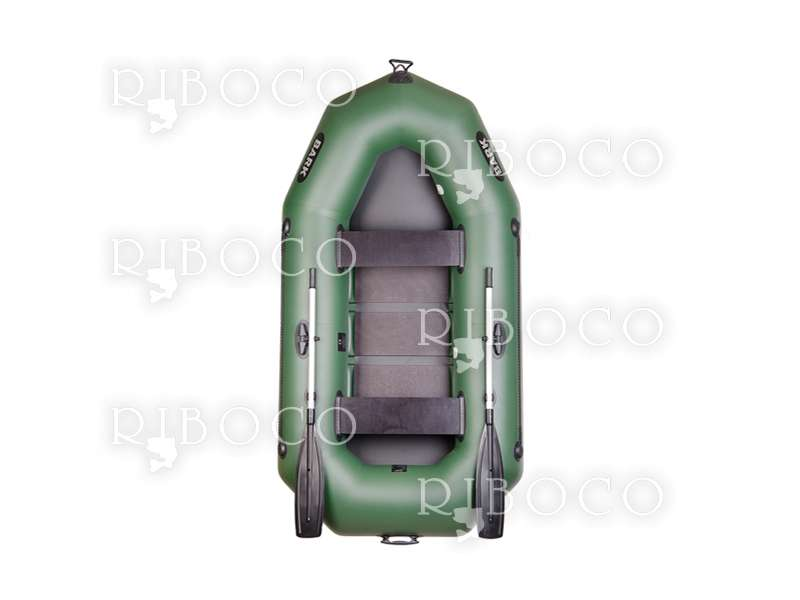 Inflatable boat Bark B-250C rowing-motor two-seater