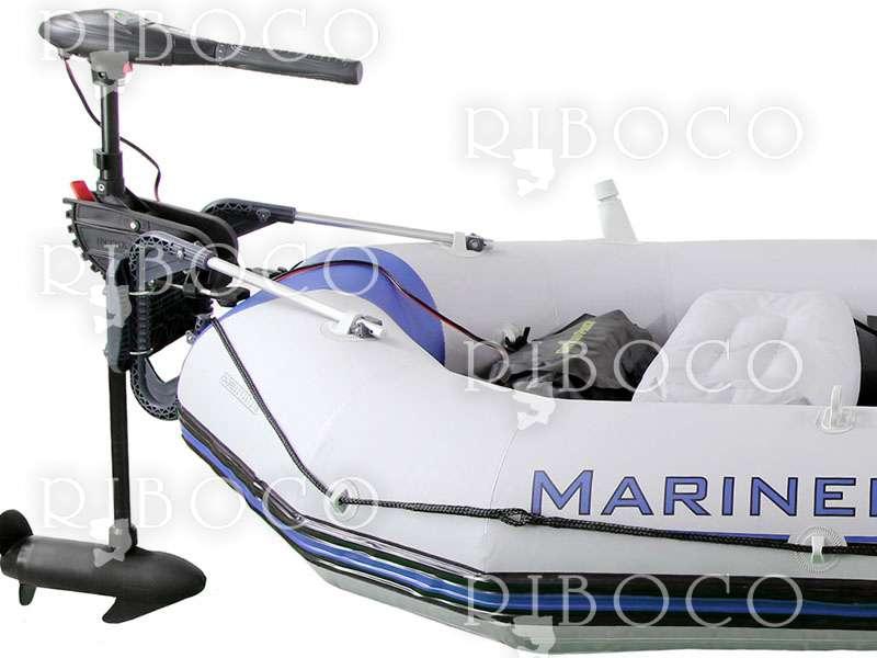 Intex Mariner 3 Inflatable Boat Set With Oars Riboco
