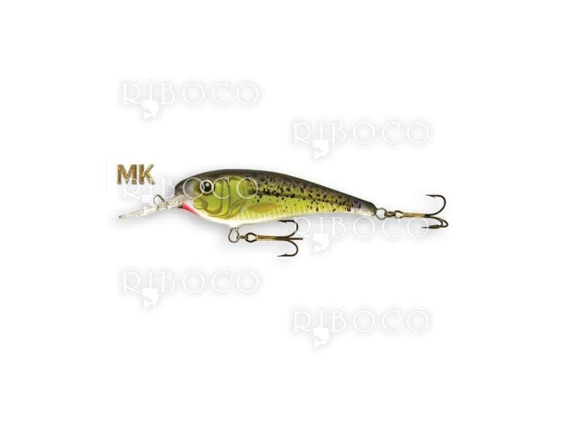 Floating Fishing Wobbler Goldy GM02-Troter 7 cm