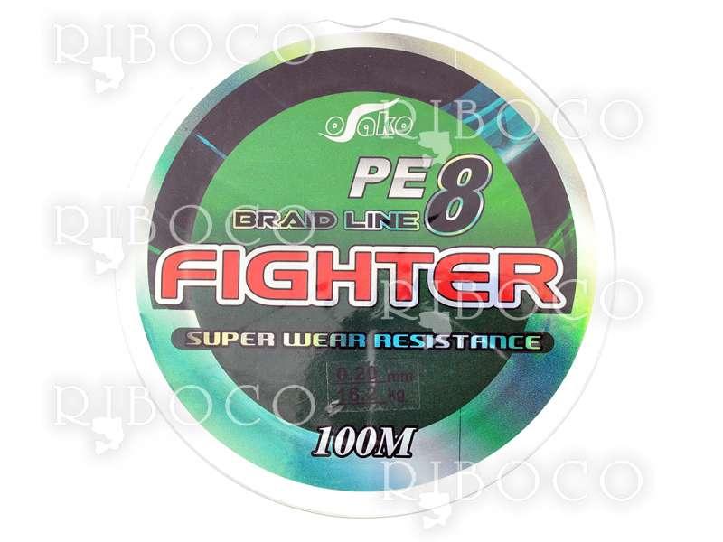 Плетено влакно Osako PE8 FIGHTER - 100 m