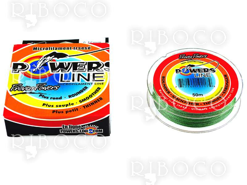 Braided Line POWERS LINE PROVEN POWERS 50 m