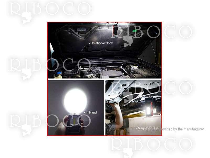 Къмпинг лампа 1W LED + COB
