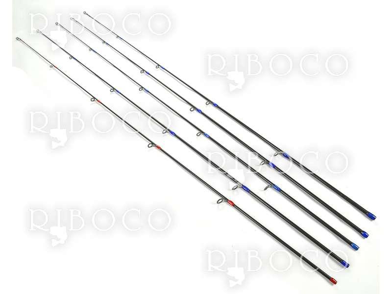 Резервна горна част за карбонови блеснарки/спинингови пръчки с дължина 2.10 m, 2,40 m и 2.70 m