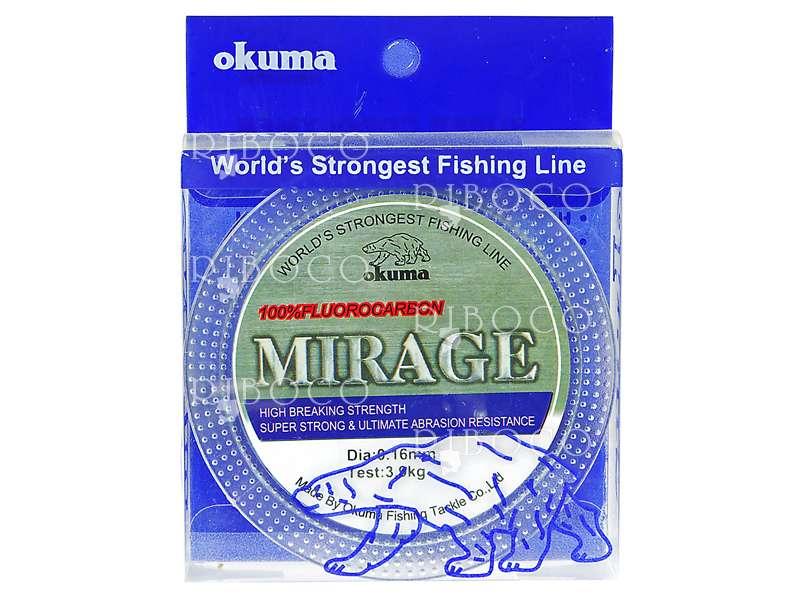 Риболовно влакно флуорокарбон Okuma MIRAGE