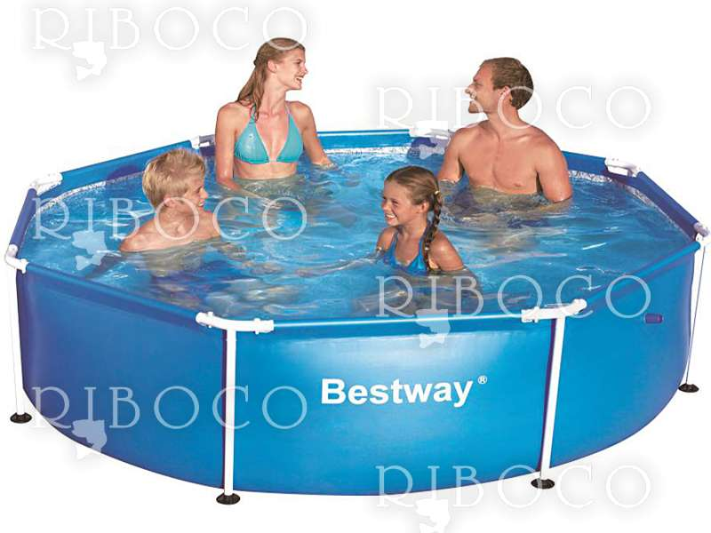 Bestway 56431 Steel Frame 8ft Swimming Pool - Riboco ®
