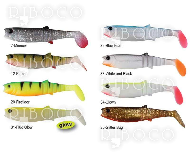 Силиконова рибка Savage Gear LB Cannibal Shad 6.8 cm, 8 cm, 10 cm