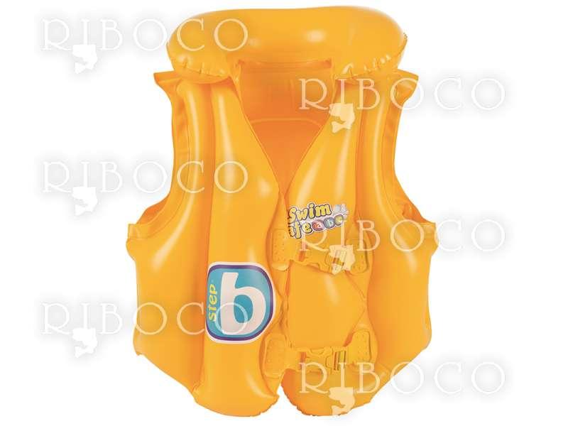 Надуваема спасителна жилетка с яка детска Bestway 32034