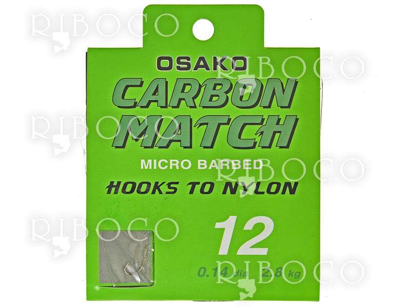 Вързани куки Osako CARBON MATCH