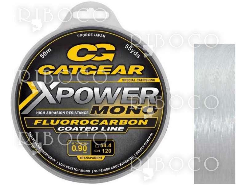 Сомаджийско влакно CATGEAR X-POWER MONO LEADER 50 m