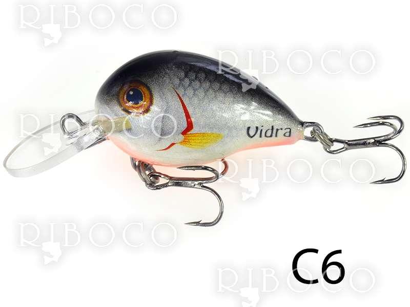 Рибарски воблер Vidra C - 3.6 cm потъващ