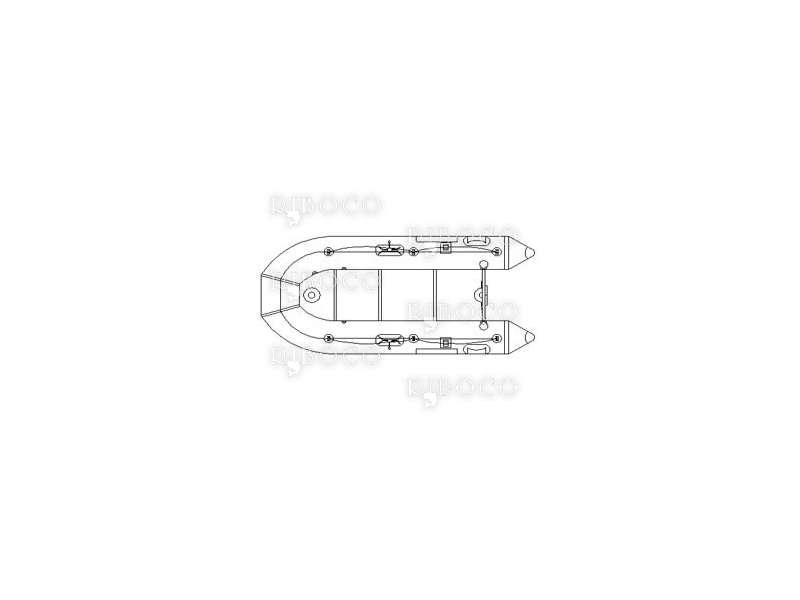 Надуваема риболовна лодка Line Winder CD