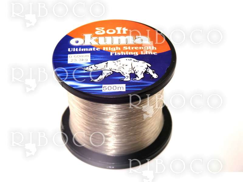 Monofilament Fishing Line Okuma Soft 200 m,500 m