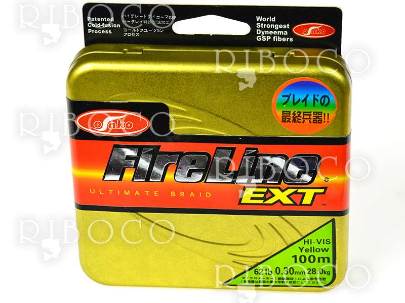 Osako Fire Line EXT YELLOW 100 m