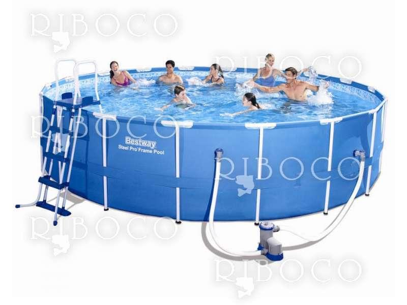 Сглобяем басейн Bestway 56462 d 549 x 122 cm