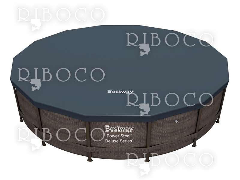 Bestway 56664 d 427 cm x 107 cm Framed pool Round pool Brown 13030 L