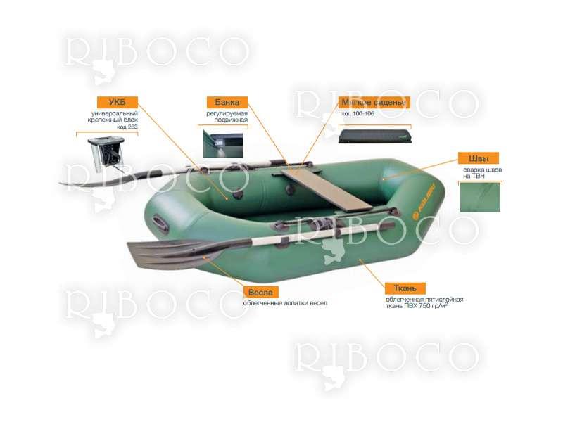 Надуваема гребна лодка Kolibri серия Super Light - Супер леки - K-190, K-210, K-230