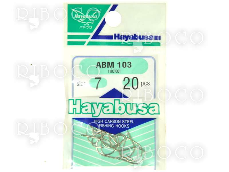 Куки за риболов Hayabusa ABM103 nickel