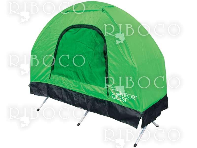 Походно легло 5 в 1, надуваем матрак, калъф за матрака, спален чувал, палатка, помпа Bestway 68064 Fold 'N Rest Camping Bed